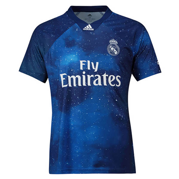 Camiseta Adidas EA Sports azul Real Madrid 2019
