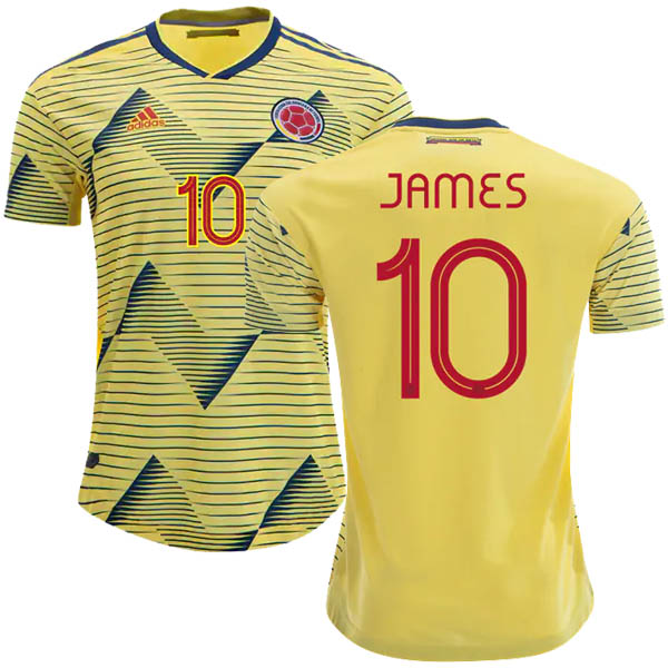 Camiseta James de la 1ª equipación Colombia 2019