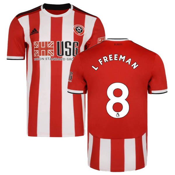 Camiseta Luke Freeman de la 1ª equipación Sheffield United 2019-20