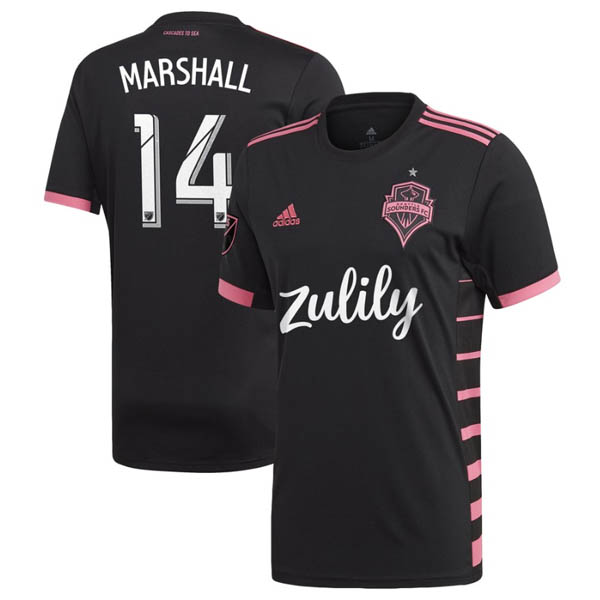 Camiseta Marshall de la 2ª equipación Seattle Sounders 2019