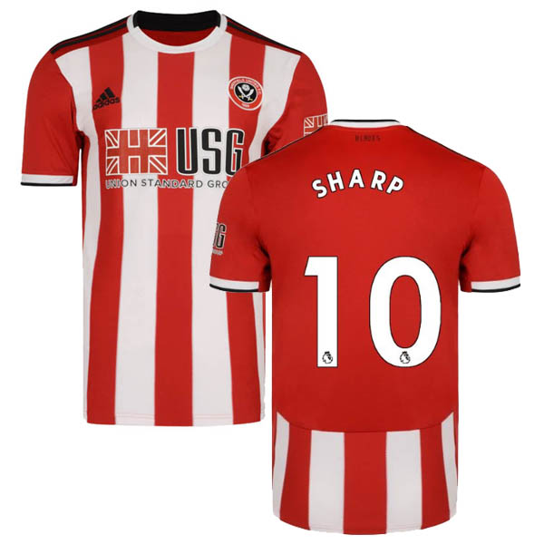 Camiseta Sharp de la 1ª equipación Sheffield United 2019-20