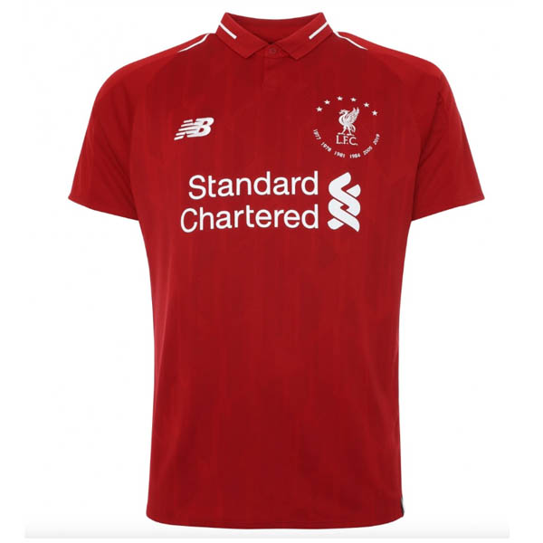 Camiseta de la Six Times Collection de Liverpool 2019