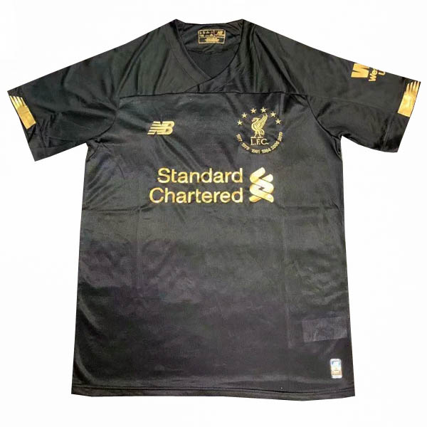 Camiseta negro de la Six Times Collection de Liverpool 2019