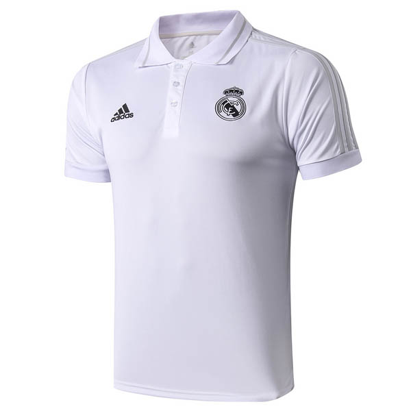 Camiseta polo del Real Madrid blanco 2019