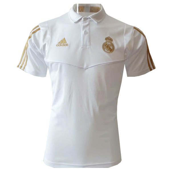 Camiseta polo Real Madrid baratas del blanco 2019-20