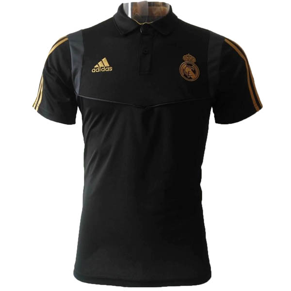 Camiseta polo Real Madrid baratas del negro 2019-20