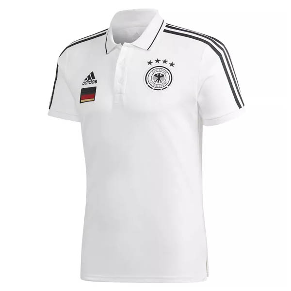 Camiseta polo del Alemania blanco 2021
