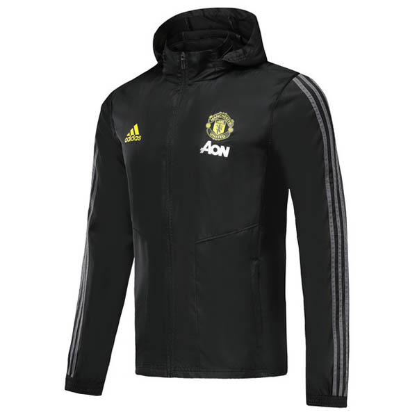 Rompevientos Manchester United negro 2019-20
