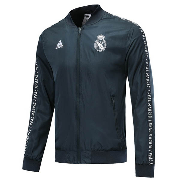 Rompevientos Real Madrid azul oscuro 2019-20